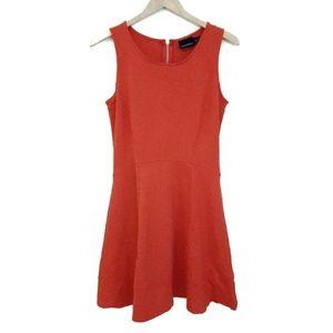 Cynthia Rowley Orange Sleeveless A-Line Dress